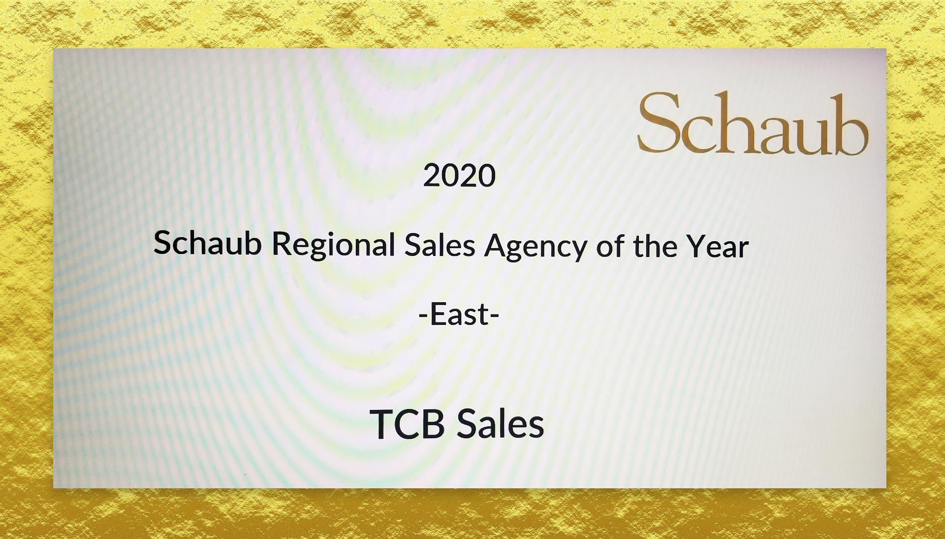 Schaub Award